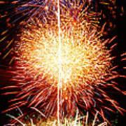 Fireworks_1591 Art Print