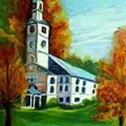 First Baptist Church Of America Art Print