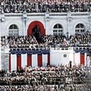 First Inauguration Of Bill Clinton Art Print