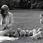 First Lady Betty Ford And The Familys Art Print