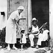 First Lady Eleanor Roosevelt Chatting Art Print