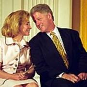 First Lady Hillary Clinton Art Print by Everett
