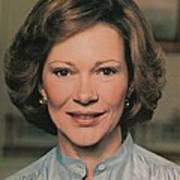 First Lady Rosalynn Carter Art Print by Everett
