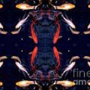 Fish Ballet Art Print