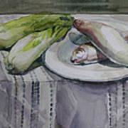 Fish Potrait Art Print
