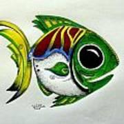 Fish Study 2 Art Print