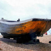 Fishing Boat - Brighton Beach Art Print