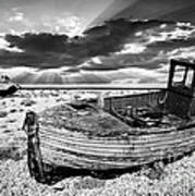 Fishing Boat Graveyard Art Print