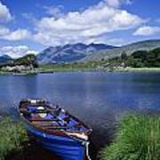 Fishing Boat On Upper Lake, Killarney Art Print