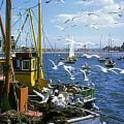 Fishing Boat Art Print by The Irish Image Collection