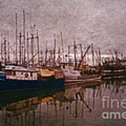 Fishing Boats Of Steveston-ca Art Print