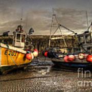 Fishing Boats On The Cobb Art Print
