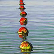 Fishing Floats Art Print