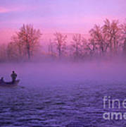 Fishing On The Bow Art Print by Bob Christopher