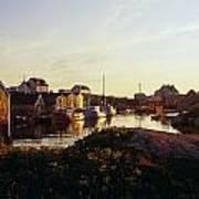 Fishing Village In Peggys Cove, Nova Art Print