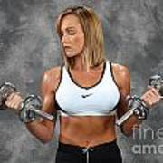 Fitness 8 Art Print
