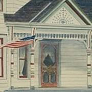 Flag Day Art Print
