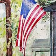 Flag Day Art Print by Regina Ammerman