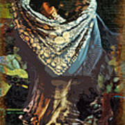 Flamenco Series No 1 Art Print