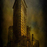 Flatiron Building...my View..revised Art Print