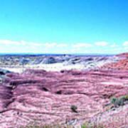 Flatlands In The Arizona Painted Desert Art Print