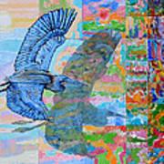 Flight Into Unconsiousness Art Print