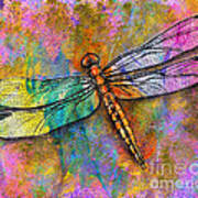 Flight Of The Dragonfly Art Print