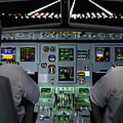 Flight Simulator Art Print