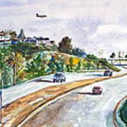 Flight To Bakersfield Art Print