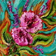 Flora Latino Art Print