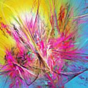 Flora Splendor Beneath The Sun Art Print