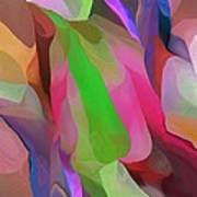 Floral Abstraction Art Print