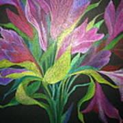Floral Fantasy 1 Art Print
