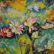 Floral Fire Art Print