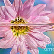 Floral 'n' Water Art 5 Art Print