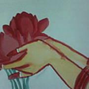 Floral Offering Art Print