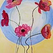 Floral Orb Art Print