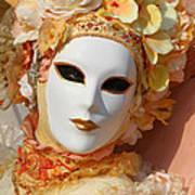 Floral Queen Portrait 2 Art Print