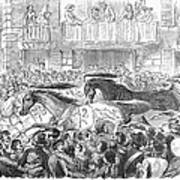 Florence: Horse Race, 1857 Art Print