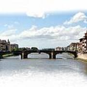 Florence Italy Pano Art Print