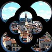 Florence Through A Unique Lens Art Print