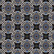 Florentine Colonnade Symmetry Art Print