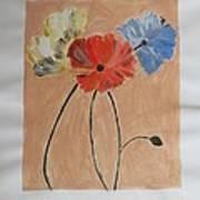 Flower And Bud Art Print