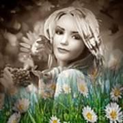 Flower Arround Me Art Print