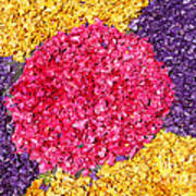 Flower Carpet Art Print