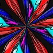 Flower Daze Nights Art Print