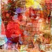 Flower Girll Art Print
