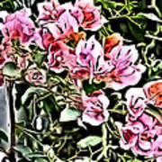 Flower Painting 0003 Art Print