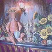 Flowerpotman Art Print