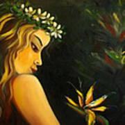 Flowers Of Paradise Art Print